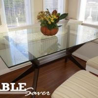 Glass Table With No Pads